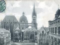 Aachen Kaiserdom Nordseite