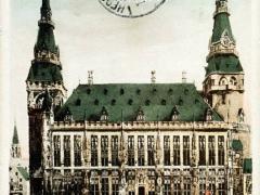 Aachen Marktplatz mit Rathaus