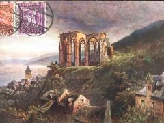 Bacharach Wernerkapelle Künstlerkarte