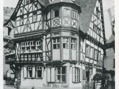 Bacherach am Rhein Altes Haus