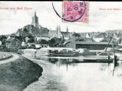 Bad Cleve Gruss aus Cleve vom Hafen aus