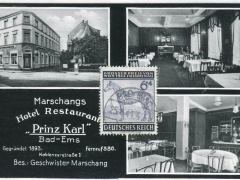 Bad Ems Marschangs Hotel Restaurant Prinz Karl
