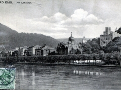 Bad Ems am Lahnufer