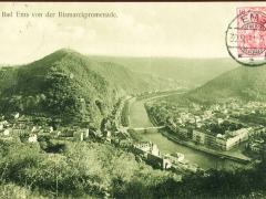 Bad Ems von der Bismarckpromenade