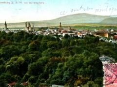Bad Homburg v d H von der Ellerhöhe