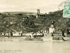 Caub Gutenfels und die Pfalz