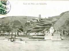 Caub mit Pfalz und Gutenfels