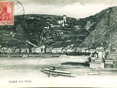 Caub mit der Pfalz