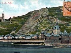 Caub und die Pfalz