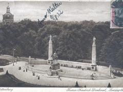 Charlottenburg Kaiser Friedrich Denkmal Luisenplatz
