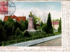 Charlottenburg Westend Kaiser Wilhelm Denkmal