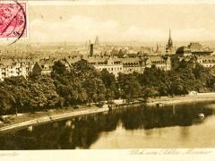 Chemnitz Blick vom Schloss Miramar