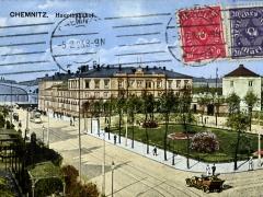 Chemnitz Hauptbahnhof