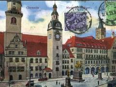Chemnitz Markt mit Rathaus