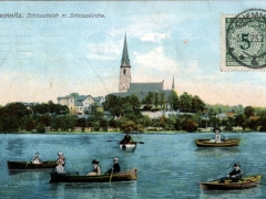 Chemnitz Schlossteich m Schlosskirche