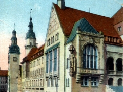 Chemnitz i Sa Neues Rathaus