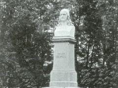 Coburg Rückert Denkmal in Neuses b Coburg