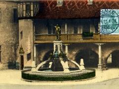 Colmar Kaufhaus und Schwendibrunnen