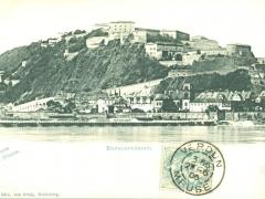 Ehrenbreitstein Gruss vom Rhein