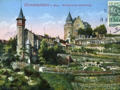 Ehrenbreitstein a Rhein Klausenburg Rheinburg