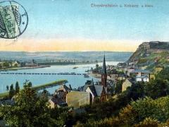 Ehrenbreitstein und Koblenz am Rhein