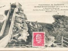 Ehrenfriedersdorf Aussichtsfelsen der Greifensteine
