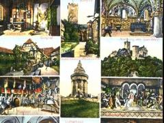 Eisenach und die Wartburg Mehrbildkarte