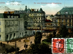 Elberfeld der neue Schwebebahnhof Döppersberg