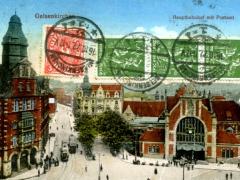 Gelsenkirchen Hauptbahnhof mit Postamt