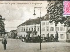 Germersheim a Rhein Kommandantur u Hauptstraße