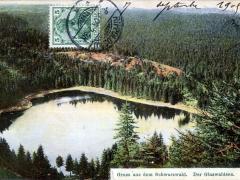 Glaswaldsee Gruss aus dem Schwarzwald