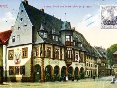 Goslar Kaiser Worth am Marktplatz