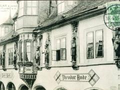 Goslar Kaiserfiguren an der Kaiserworth