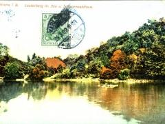 Karlsruhe i B Lauterberg m See u Schwarzwaldhaus