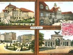 Kassel Mehrbildkarte