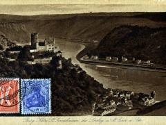Katz Burg St Goarshausen die Loreley St Goar