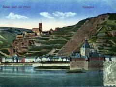 Kaub und die Pfalz Gutenfels
