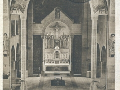 Kehl a Rh Innteres der Kath Kirche mit Hochaltar