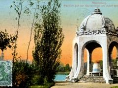Magdeburg-Pavillon-auf-der-Marien-Insel-am-Adolf-Mittag-See