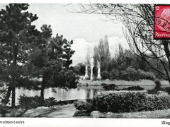 Magdeburg Stadtpark am Adolf Mittag See