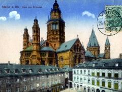 Mainz a Rh Dom von Südwest
