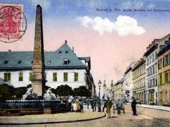Mainz a Rh Grosse Bleiche mit Neubrunnen
