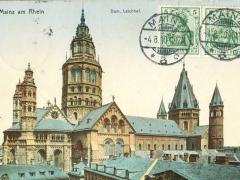 Mainz am Rhein Dom Leichhof