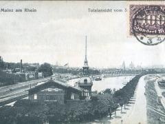 Mainz am Rhein Totalansicht