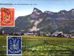 Oberammergau mit Passionstheater und Kofel