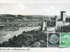 Oberlahnstein und Schloss Stolzenfels