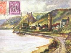 Oberwesel Künstlerkarte