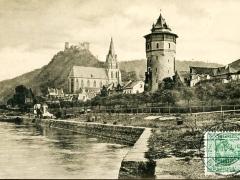 Oberwesel mit Ruine Schönburg