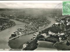 Passau Fliegeraufnahme
