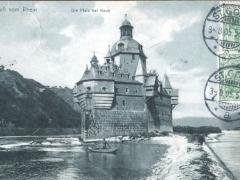 Pfalz bei Kaub Gruss vom Rhein